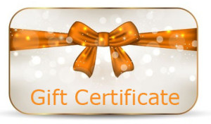 Holiday Gift Certificates Available! Use it for your loved ones and or for yourself!